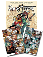 Sea of Thieves Comic Collection