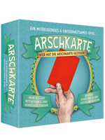 Kylskapspoesi Arschkarte Spiel