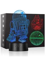 3D LED Star Wars Tischlicht