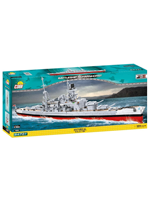 COBI Schlachtschiff Scharnhorst Bausteinset