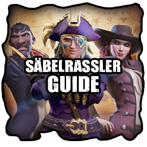 Sea of Thieves Säbelrassler Levelguide