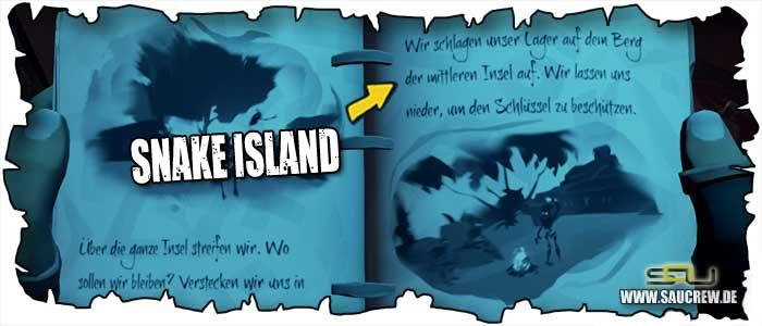 Der verwunschene Schurke - Snake Island