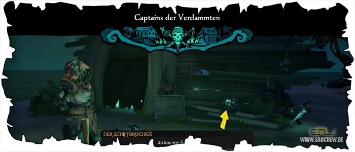 Sea of Thieves A Pirate's Life Seemannsgarn Guide - Captains der Verdammten