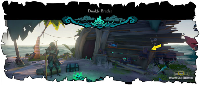Sea of Thieves A Pirate's Life Seemannsgarn Guide - Dunkle Brüder