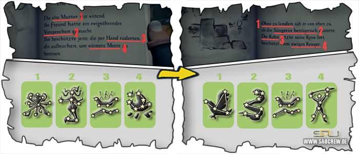 Seemansgarn Guide Diebesstern - Vault Lösung