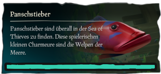 Sea of Thieves Panschstieber angeln