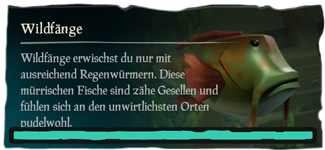 Sea of Thieves Wildfang angeln