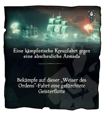 Sea of Thieves Geisterflotten Mission