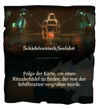 Sea of Thieves Schädelversteck Mission