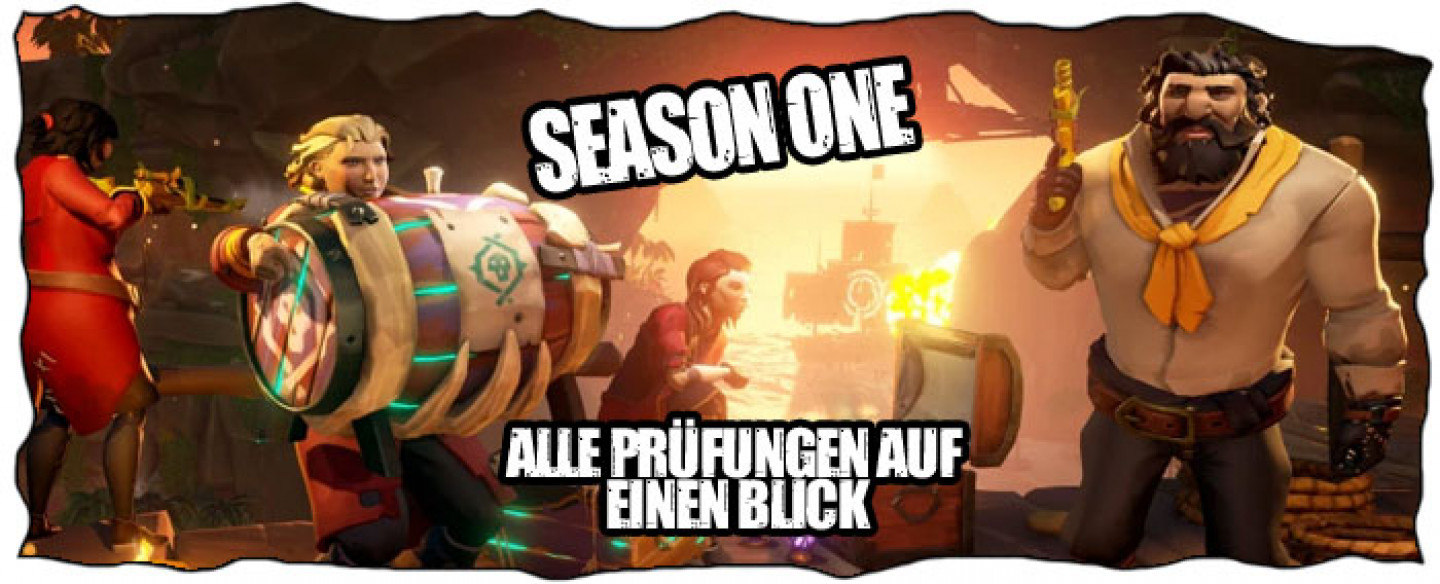 Sea of Thieves Prüfungen