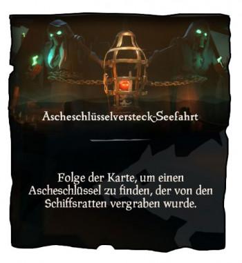 Sea of Thieves Ascheschlüssel Mission