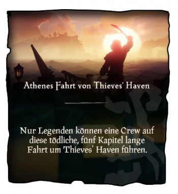 Sea of Thieves Thieves Haven Mission