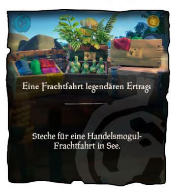 Sea of Thieves Frachtfahrt Mission