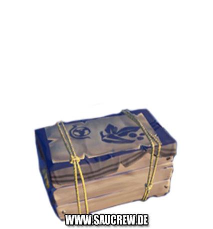 Kiste mit feinen Gewürzen
