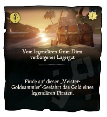 Sea of Thieves Goldsammler Mission