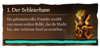 Sea of Thieves Seemansgarn Der Schleierbann