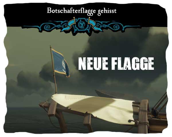 Die neue Flagge des Botschaftersystems