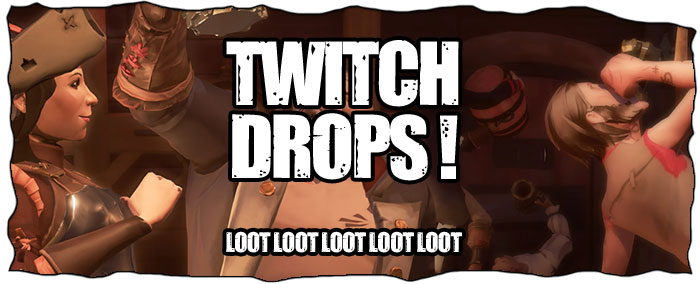 Sea of Thieves Twitch Drops
